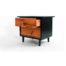 contemporary nightstands and bedside tables by Wood Design