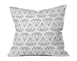 Wesley Bird Diamond Print 2 Outdoor Throw Pillow - Do you hear that noise? it's your outdoor area begging for a facelift and what better way to turn up the chic than with our outdoor throw pillow collection? Made from water and mildew proof woven polyester, our indoor/outdoor throw pillow is the perfect way to add some vibrance and character to your boring outdoor furniture while giving the rain a run for its money.