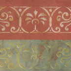 Pompeii Border Stencil - Pompeii Border Stencil from Royal Design Studio for walls, furniture, ceiling, floor, or fabric.