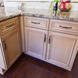Dynasty Anson Cocoa Coffee - Dynasty by Omega cabinetry in the Anson door style, Maple wood with a Cocoa finish and a Coffee glaze.