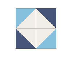 """""""Diagonal"""" 8x8 Encaustic Cement Tiles - """"Make every space Count"""" with Rustico Tile and Stone, wholesale flooring, global shipping."""