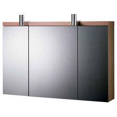 Contemporary Bathroom Mirrors by UK Bathrooms