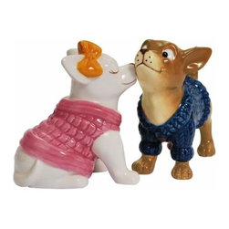 WL - 3.25 Inch Kitchenware Chihuahua in Sweaters Salt and Pepper Shakers - This gorgeous 3.25 Inch Kitchenware Chihuahua in Sweaters Salt and Pepper Shakers has the finest details and highest quality you will find anywhere! 3.25 Inch Kitchenware Chihuahua in Sweaters Salt and Pepper Shakers is truly remarkable.