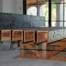 Contemporary  by Woodland Custom Beam Company