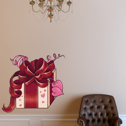 Holiday Valentines Day Vinyl Wall Decal HolidayValentinesDayUScolor003; 12 in. - Vinyl Wall Decals are an awesome way to bring a room to life!