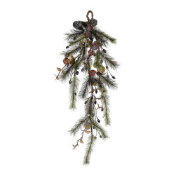 Silk Plants Direct - Silk Plants Direct Eucalyptus, Pine and Pine Cone Teardrop (Pack of 6) - Pack of 6. Silk Plants Direct specializes in manufacturing, design and supply of the most life-like, premium quality artificial plants, trees, flowers, arrangements, topiaries and containers for home, office and commercial use. Our Eucalyptus, Pine and Pine Cone Teardrop includes the following:
