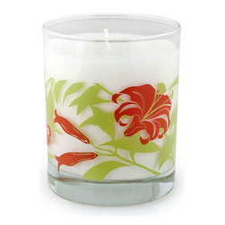Crash - Tiger Lily, A Blend Of Peach Blossom And Jasmine Candle - Modern design and fragrance in a timeless product. Experience functional art in your home, exclusively from Crash. This candle is fragranced with a blend of White Peach Blossom, Lime, Rose, Jasmine, Tiger Lily with Amber and Musk.