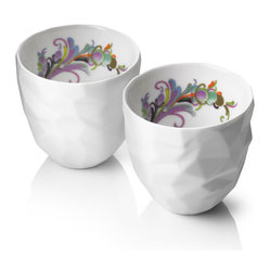 Raw Diamonds By Us Thermo Cups, Set of 2