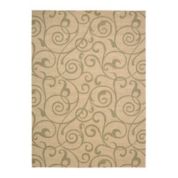 Nourison - NOUR-42195 Nourison Riviera Area Rug Collection - These beautiful, velvety soft rugs are constructed of pure wool and highlighted with faux-silk* elegant Damask, scroll and skin designs. with their exquisite detail and fabulous patterns, this is a collection that will never go out of style. Add a touch of sophistication and make any room look better instantly.