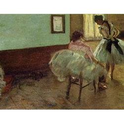 The Dance Lesson, c.1879/80 | Edgar Degas | Canvas Prints - Condition: Unframed Canvas Print