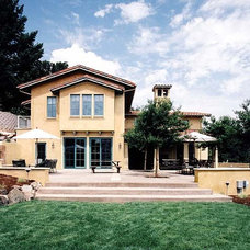 Mediterranean Exterior by JMA (Jim Murphy and Associates)