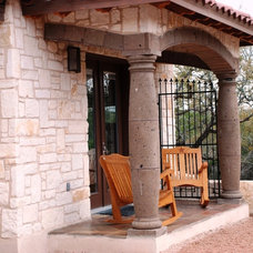 Mediterranean Exterior by Rustico Tile and Stone