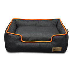 Urban Blue Lounger Pet Bed - Frontgate Dog Bed
