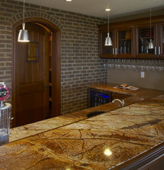 kitchen countertops by Pacific Stone Fabrication