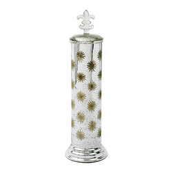 GO Home Ltd - GO Home Ltd Venetian Celestial Etched Jar -