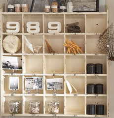 eclectic bookcases cabinets and computer armoires by Pottery Barn