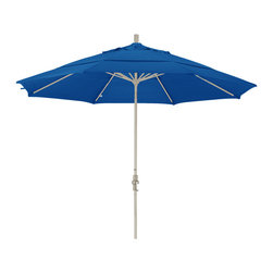 California Umbrella - 11 Foot Sunbrella Aluminum Crank Lift Collar Tilt Market Umbrella, Sand Pole - California Umbrella, Inc. has been producing high quality patio umbrellas and frames for over 50-years. The California Umbrella trademark is immediately recognized for its standard in engineering and innovation among all brands in the United States. As a leader in the industry, they strive to provide you with products and service that will satisfy even the most demanding consumers.
