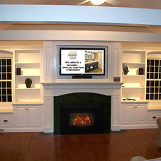 Traditional Family Room by Renovisions, inc.