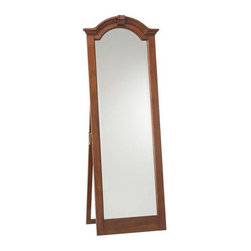 Cooper Classics - Cooper Classics Traditional 68x25 Cheval Mirror in Lodge Brown Cherry - Traditional Cheval Mirror will highlight style and elegancy of your home. This mirror is a perfect decision, if your are looking for nowdays trends maintaining the classic features.