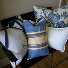 Decorative Pillows by Valerie J Johnson Custom Tailored Home Furnishings