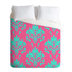 DENY Designs - Rebecca Allen The Sophisticate Duvet Cover - Turn your basic, boring down comforter into the super stylish focal point of your bedroom. Our Luxe Duvet is made from a heavy-weight luxurious woven polyester with a 50% cotton/50% polyester cream bottom. It also includes a hidden zipper with interior corner ties to secure your comforter. it's comfy, fade-resistant, and custom printed for each and every customer.