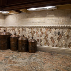 traditional tile by Kitchens Etc. of Ventura County