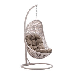 Zuo Modern - Zuo Modern Sheko Outdoor Cradle Chair X-501307 - Zuo Modern Sheko Outdoor Cradle Chair X-501307
