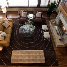 Contemporary Living Room by H&H Design