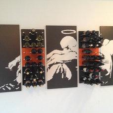 Modern Artwork by STACT Wine Displays Inc.
