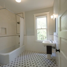 Traditional Bathroom by Ivon Street Studio