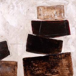 "SCANDINAVIAN ART FACTORY - ""Bricks 4""  - Large Artwork - NAME-""BRICKS 4"""