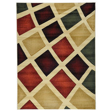 Contemporary Area Rugs by Ottomanson Inc