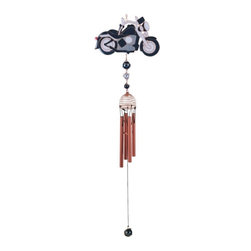 GSC - Wind Chime Copper & Gem Motorcycle Garden Decoration Hanging Decor - This gorgeous Wind Chime Copper & Gem Motorcycle Garden Decoration Hanging Decor has the finest details and highest quality you will find anywhere! Wind Chime Copper & Gem Motorcycle Garden Decoration Hanging Decor is truly remarkable.