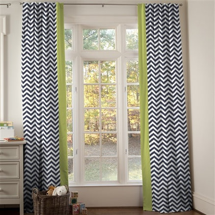 Contemporary Curtains by Carousel Designs