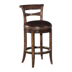 EuroLux Home - New Counter Stool Solid Hardwood - Product Details