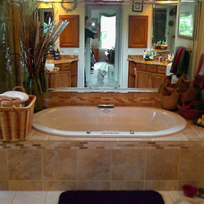 Traditional Bathroom by Asbury Remodeling & Construction, LLC