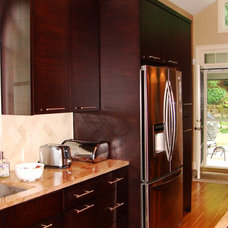 Modern Kitchen Cabinets by Wood Cabinet Design Inc.