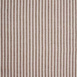Hook & Loom Rug Company - Chester Taupe/White Rug - Very eco-friendly rug, hand-woven with yarns spun from 100% recycled fiber.  Color comes from the original textiles, so no dyes are used in the making of this rug.  Made in India.