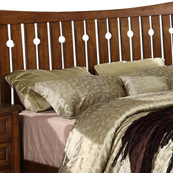Riverside Furniture - Riverside Furniture Craftsman Home Full-Queen Headboard - Riverside Furniture - Headboards - 2970 - Riverside's products are designed and constructed for use in the home and are generally not intended for rental, commercial, institutional or other applications not considered to be household usage.