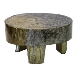 Helmer Rustic Gray Coffee Table - Our coffee tables are built of beautiful elm wood reclaimed from buildings and furniture pieces that graced the eclectic Qing dynasty. Each piece is meticulously hand built and finished by time-honored craftsman utilizing over 120 different processes. 200 year old hand carvings are intricately placed in some, while the simplistic lines and natural wear age make others unique. Perfect in the entry or next to the sofa, no two pieces are alike.