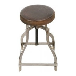 Vintage Reproduction Industrial Lab or Factory Stool