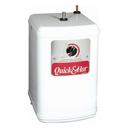 Waste King - Waste King Hot Water Tank - This quick and hot water tank delivers hot water in an instant for kitchen convenience. The heater protects itself with a self-resetting thermal fuse.