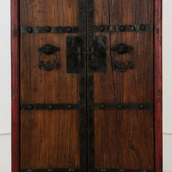 Antique Chinese Cabinet with New Doors made from Old Wood - Antique Chinese Cabinet with New Doors made from Old Wood