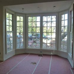 Beverly Hills Home Restoration - Bay Windows