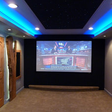 Modern Home Theater by Dave Kupec