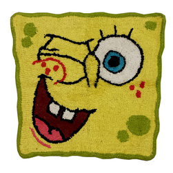 Franco Manufacturing - Spongebob Bathroom Rug Bubblin Around Bath Accessories - FEATURES: