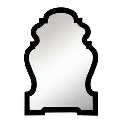 Cooper Classics - Cooper Classics Harrison Mirror, Glossy Black - -Glossy black finish