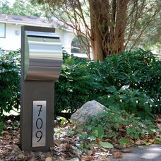 Contemporary Outdoor Products by The Mailbox Doctor