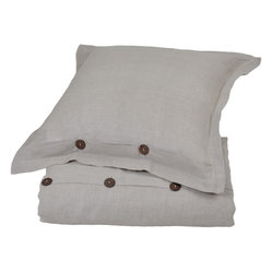 Villa Home Linen Natural Duvet Cover