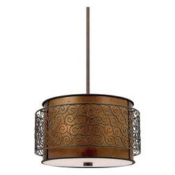 Quoizel Lighting - Quoizel MC843CRC Charles Renaissance Copper Pendant - 3, 75W A19 Medium